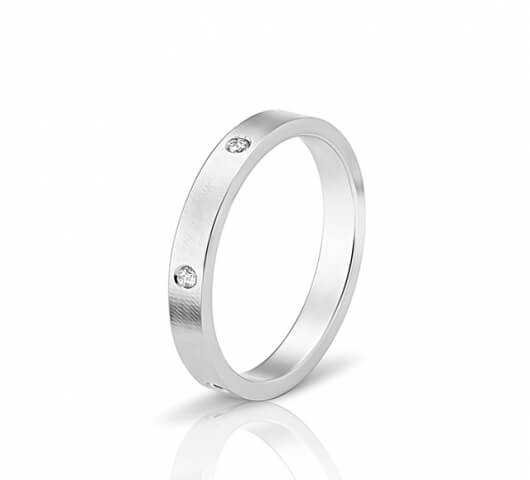 wedding ring in 18 Karat gold - WRW001 - image 1