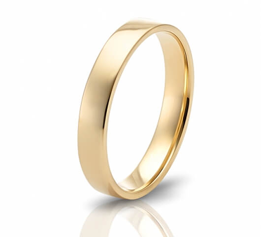 Wedding ring in 18 Karat gold - WRM004 - image 2