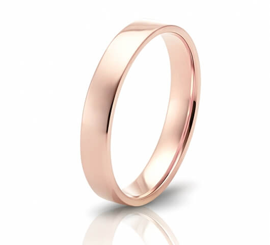Wedding ring in 18 Karat gold - WRM004 - image 3