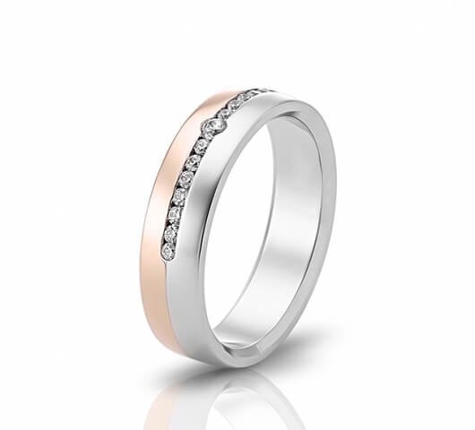 Wedding ring in 18 Karat gold - WRW016 - image 3