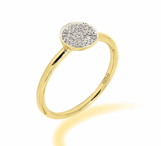 Engagement ring in 18 karat gold - SOL005 - image 2