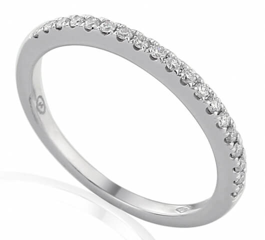 Half eternity ring in 18 karat gold - HET005 - image 1