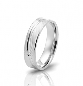 Wedding ring in 18 Karat gold - WRW002