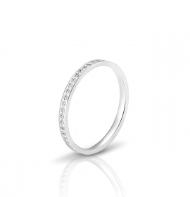 Wedding ring in 18 Karat gold - WRW003