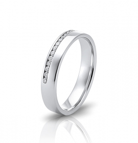Wedding ring in 18 Karat gold - WRW004
