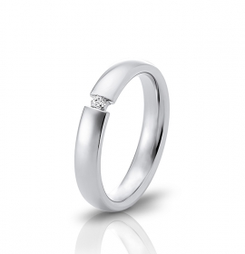 Wedding ring in 18 Karat gold - WRW006
