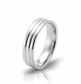 Wedding ring in 18 Karat gold - WRM009