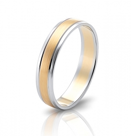 Wedding ring in 18 Karat gold - WRW010