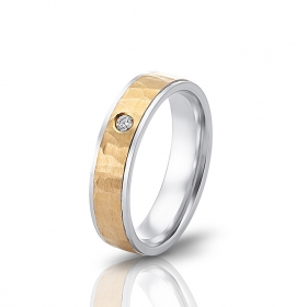 Wedding ring in 18 Karat gold - WRW015